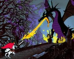 Attacking Dragon Wallpaper