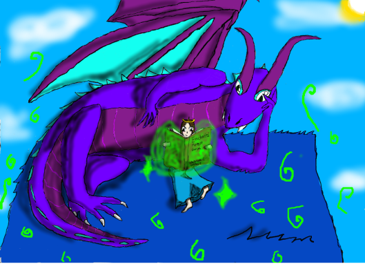 The Dragon's Lair Original Artwork, by Princess