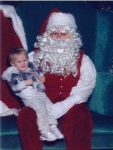 Princess and Santa